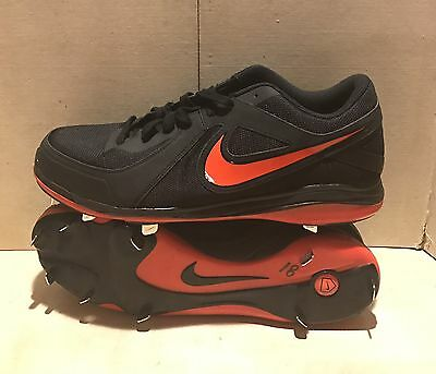 buy online 0847c 81233 New Mens Nike Air MVP Pro Metal Baseball Cleats Red White 524641 Size 16