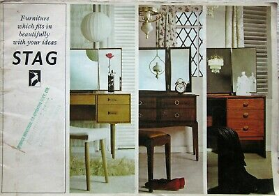 Vintage 1966 Stag Furniture Catalogue  Full of Colour Photos + Price List