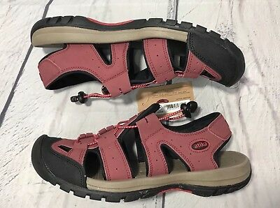 7203b38dd17f ATIKA Men s Sports Sandals Trail Outdoor Water Shoes Size 10 Red 3 Layer