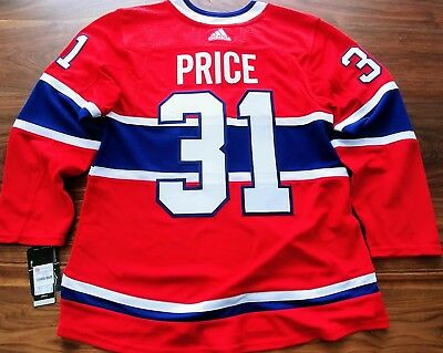 Carey Price Montreal Canadiens Home Authentic Pro Adidas Nhl Jersey Nwt ebcc0fa2b