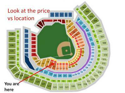 2 tix row 8 aisle field box Mets v Yankees 7/3; club access; price is for both