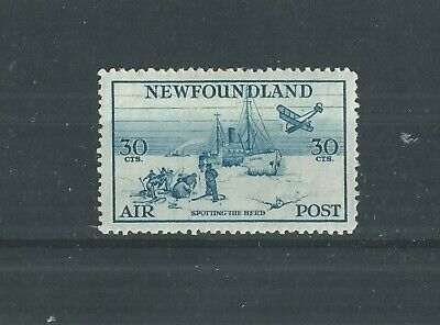 NEWFOUNDLAND 1933 30c AIR FRESH MLH