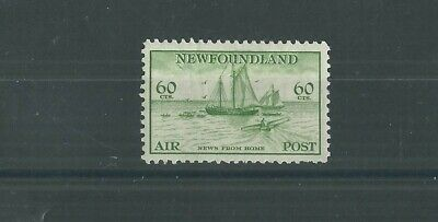 NEWFOUNDLAND 1933 60c AIR FRESH MLH