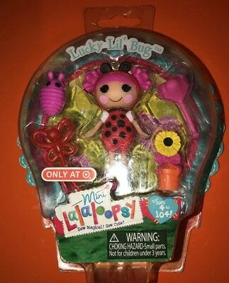 NEW MINI LALALOOPSY LUCKY LIL BUG DOLL TARGET EASTER EXCLUSIVE