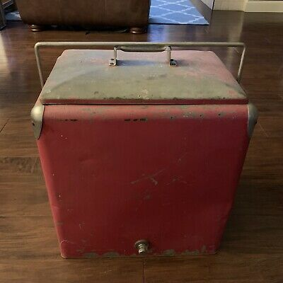 Vintage Progress Refrigerator Co. Cooler Box
