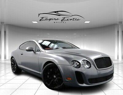2010 Continental GT Supersports $314K MSRP $32K Satin Paint, 16K Miles 2010 Bentley Continental GT Supersports $314K MSRP $32K Satin Paint, 16K Miles