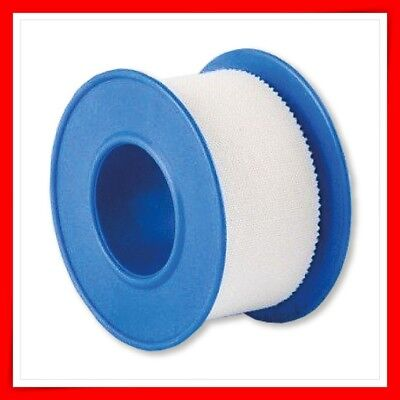 FABRIC TAPE  2x WHITE ADHESIVE FIRST AID 1.25 CM X 5M  QUALITY CE MARK