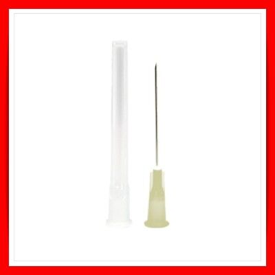 "BD Microlance™ 3 Needles STERILE HYPODERMIC CREAM 19G X 1 1/2"" 1.1mm x 40mm"