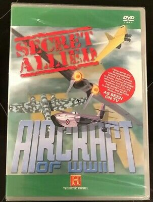 Secret Allied Aircraft Of World War 2 (DVD, 2008)