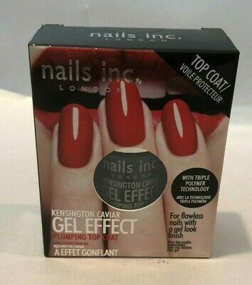 NAILS INC. KENSINGTON Caviar Gel Effect Plumping Top Coat - $17.95 ...