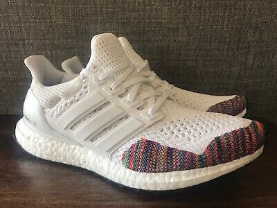 b30d50c74 Adidas Men s UltraBoost LTD Running Shoes White Multi Color Sizes 9-10  BB7800