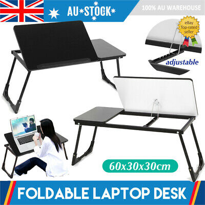 Portable Folding Laptop PC Desk Lap Bed Tray Dinner Notebooks Table Stand AU