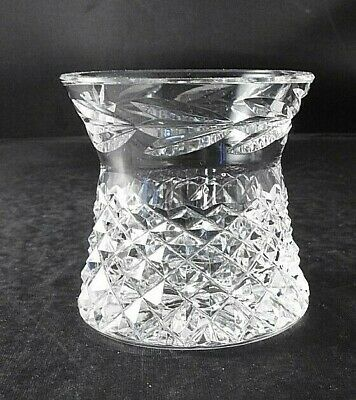 "Waterford ""Glandore"" Cut Crystal Toothpick/Cigarette Holder Exquisite 2.5"" tall"