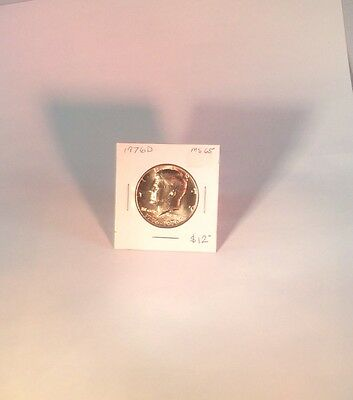 1976 D Kennedy Half Dollar, GEM Uncirculated, lot 2 B