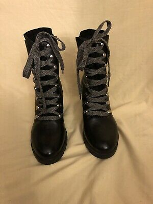 4b81aa2125f NEW W O BOX Kendall + Kylie shoes laced boots combat 9.5 EUR 40.5 ...