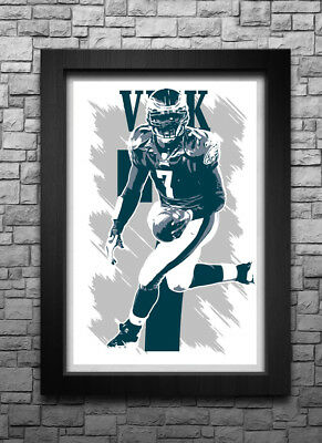MICHAEL VICK EAGLES POSTER ART PRINT PICTURE A3 11.7 × 16.5 INCH AMK1876