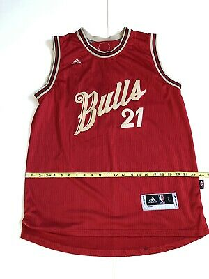 6a27264a1 CHICAGO BULLS AUTHENTIC Blank NIKE Jersey (SZ L) Jersey is  250+ ...