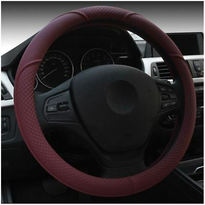 Car Embossed Entire Section Environmental Protection Steering Wheel Cover W S6Y3