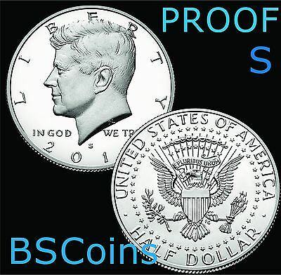 2017 S Kennedy Half Dollar Clad PROOF Gem Deep Cameo - In Stock - Ship TODAY!!