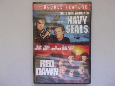 Double Feature    Navy Seals / Red Dawn     New DVD sealed