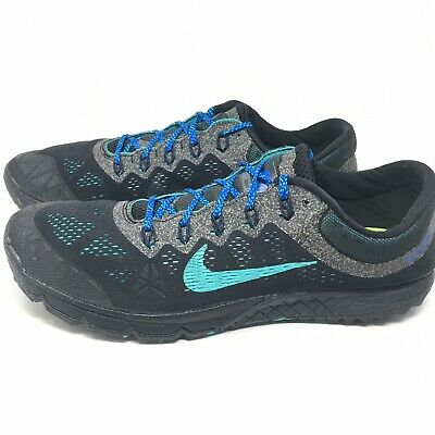 the latest ab696 6a118 NIKE ZOOM KIGER 2 Trail Running Shoes Black Teal Men's Size 13 M -  654438-001