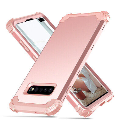 For Samsung Galaxy S10 Plus HEAVY DUTY Shockproof Protetive Case Cover Rose Gold