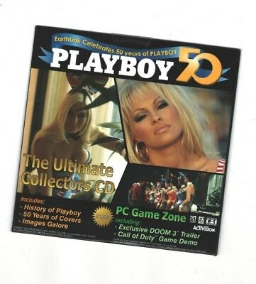 Earthlink Celebrates 50 Years Of Playboy - CD ROM / 50 years of Covers & Images