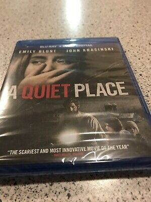 A Quiet Place Blu-Ray DVD Digital Brand New Sealed