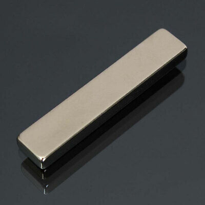 1Pc 50X10X5Mm Super Strong Rare Earth Neodymium Long Bar Block Motor Magnet Supr