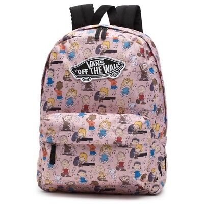 NWT VANS PEANUTS Snoopy Dance Party Backpack