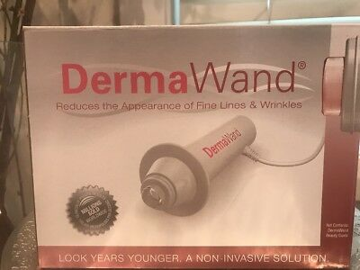 Dermawand -As Seen On TV -BRAND NEW (UNBOXED) -All Accessories Incl.