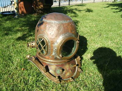 Divers Helmet,  Original Hard Hat, Not A Reproduction