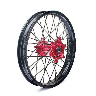"19"" Honda CRF 250 450 R 2004-2012 CR 125 250 R 2002-2013 Rear Wheel Rim Hub Set"