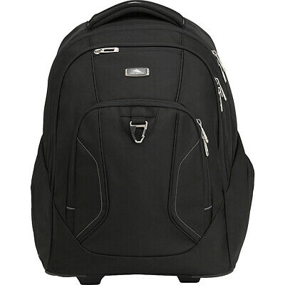 High Sierra Endeavor Wheeled Laptop Backpack 2 Colors Rolling Backpack NEW