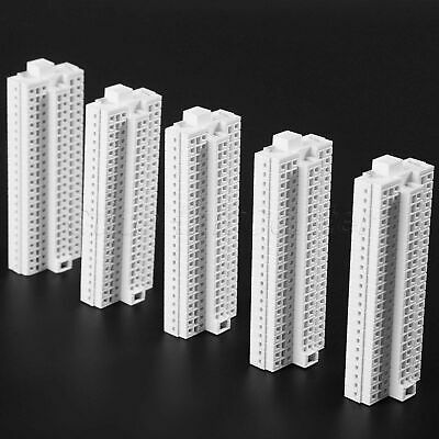 5pcs Outland Models 1:500 Modern Tall Business Building Office HO OO Scale 95mm