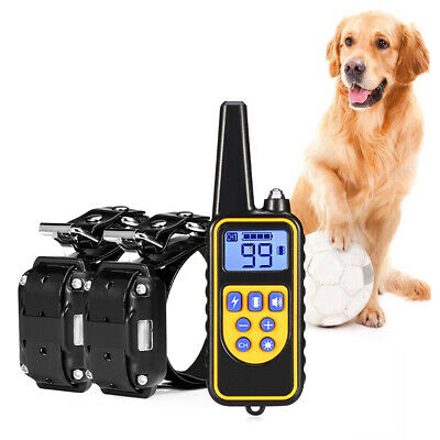 Pet Trainer Waterproof Dog Training Collar with Vibration Shock Electric Collar.