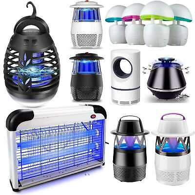 Electric Fly Catcher Mosquito Killer Insect Grill Bug Zapper Trap UV Light Lamps