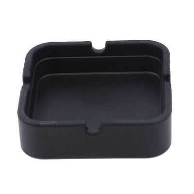 Practical Square Ashtray High Temperature Resistance Ashtray Office Supplies AT
