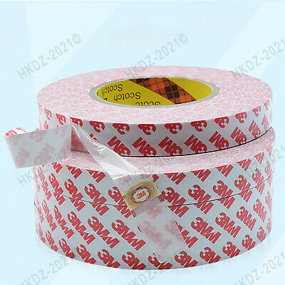 3M55236 Heat Resist Translucent Double-sided Adhesive Tape 55M/Roll,0.12mm Thick