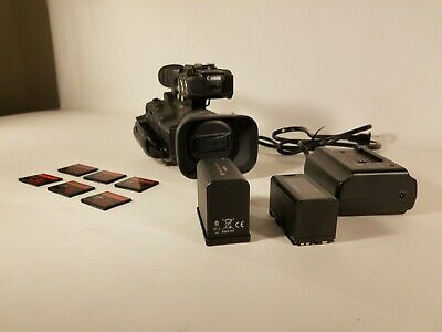 """Canon XF100 Professional Video Camera 1/3"""" CMOS 50Mbps MPEG2"""