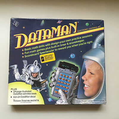 Rare Vintage Retro 1977 Dataman by Texas Instruments - Fully Working