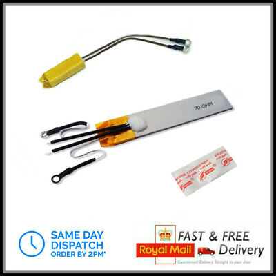 Ghd 70ohm Heater Element with Thermistor & Thermal Fuse MK4 MK5 Repair Parts Kit