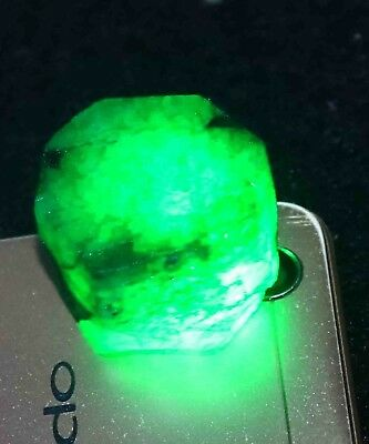 New Year Special 155.00Ct EGL Certified Natural Green Emerald Gems Rough CW341