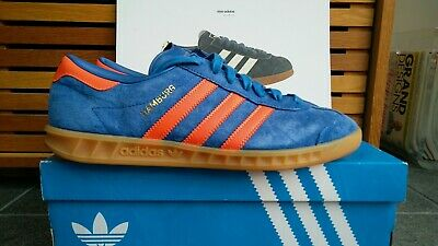 733c7b75f4e4 adidas originals hamburg trainers size 8 (dublin colour way) worn once.