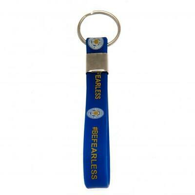 Leicester City F.C.  Silicone Keyring  OFFICIAL LICENSED MERCHANDISE GIFT