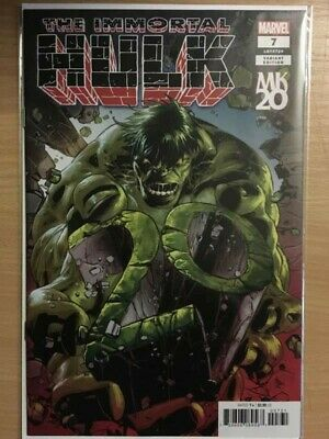 THE IMMORTAL HULK #7 Marvel Comics MIKE DEODATO KNIGHTS VARIANT COVER