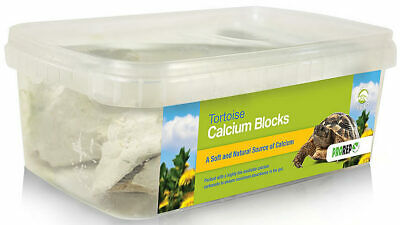 ProRep Tortoise Calcium Blocks 1kg Calcium Supplement for Reptiles Diet