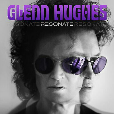 2016 GLENN HUGHES Resonate with 2 Bonus Tracks CD + DVD EDITION w/Tracking# JPN