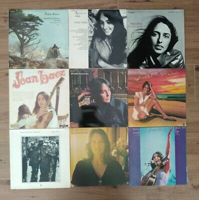 Lot vinyles 33t Joan baez folk rock 70 one day diamonds rust shadows Gracias