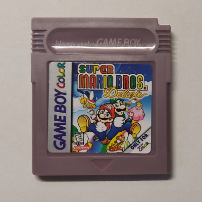 Super Mario Bros. Deluxe Gbc/gb - Eur/usa/uk - New Battery - With Cover